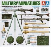 Tamiya 35111 German Infantry Weapons Set (1:35)
