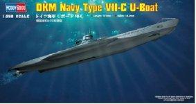 Hobby Boss 83505 DKM Navy Type VII-C U-Boat 1/350