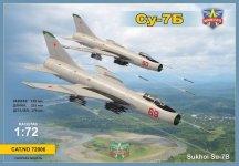 Modelsvit 72006 Sukhoi Su-7B 1/72
