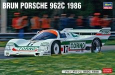 Hasegawa 20455 Brun Porsche 962C 1986 1/24
