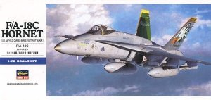 Hasegawa D8 F/A-18C HORNET 1/72