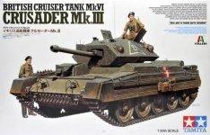 Tamiya 37025 Cruiser Tank Mk. IV Crusader Mk. III 1/35