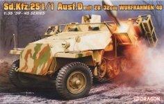 Dragon 6861 Sd.Kfz.251/1 Ausf.D mit 28/32cm Wurfrahmen 40 1/35
