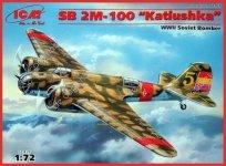 ICM 72161 SB 2M-100 Katiushka Spanish Air Force Bomber (1:72)
