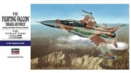 Hasegawa E34 F-16 I Fighting Falcon Israeli Air Force 1/72