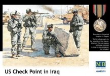 Master Box 3591 US Check Point (Iraq 2003) (1:35)