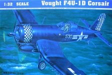 Trumpeter 02221 Vought F4U-1D Corsair (1:32)