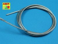 Aber TCS20 Stainless Steel Towing Cables 2,0mm, 1m long