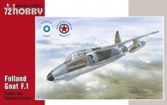 Special Hobby 72137 Folland Gnat F. Mk. I Finnish and Yugoslav Se 1/72