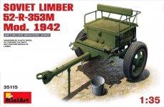 MiniArt 35115 Soviet Limber 52-R-353M Mod.1942 (1:35)