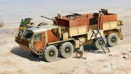 Italeri 6510 HEMTT Gun Truck (1:35)
