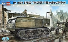 Hobby Boss 82408 M4 High Speed Tractor 155mm/8in/240mm (1:35)