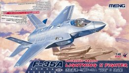 Meng Model LS-007 Lockheed F-35A Lightning II 1/48