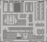 Eduard 48928 P-51D exterior MENG 1/48