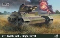 IBG 35069 7TP Polish Tank - Single Turret 1/35