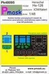 P-Mask PK48095 Hs-126 A-1/B-1 - ICM/Italeri (1:48)