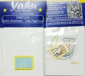 Yahu YMS7216 WW2 seatbelts Yak Fighters 1/72