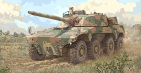 Trumpeter 09516 South African Rooikat AFV (1:35)