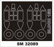 Montex SM32089 Bloch 152 AZUR