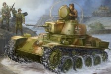 Hobby Boss 82477 Hungarian Light Tank 38M Toldi I(A20) (1:35)