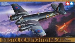 Tamiya 61064 Bristol Beaufighter Mk.VI Night Fighter (1:48)