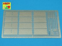 Aber 35A107 Side skirts for german tanks Sd. Kfz. 171 Panther Ausf. D and Ausf. A. (1:35)