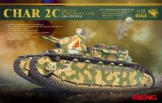 Meng Model TS-009 Char 2C French Super Heavy Tank (1:35)