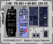 Eduard FE861 UH-1D KITTY HAWK 1/48