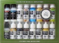 Vallejo FOLKSTONE SPECIAL (16 color set) (70102)