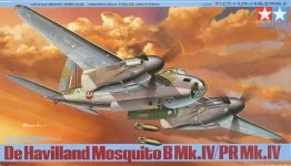 Tamiya 61066 De Havilland Mosquito B Mk.IV/PR Mk.IV (1:48)