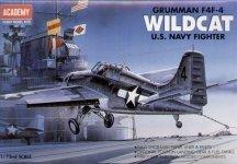Academy 12451 F4F-4 Wildcat (1650)(1:72)