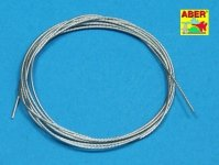 Aber TCS06 Stainless Steel Towing Cables 0,6mm, 1m long