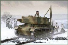 IBG 72059 Bergepanzer III Easy Assembly Kit 1/72