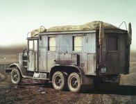 ICM 35462 Krupp L3H163 Kfz.72, WWII German Radio Communication Truck (1:35)