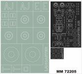 Montex MM72205 LANCASTER DAMBUSTER AIRFIX A09007 1/72