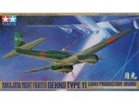 Tamiya 61084 Nakajima Night Fighter Gekko Type 11 Early Production (Irving) (1:48)