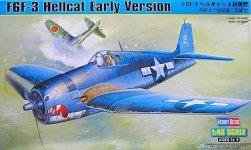Hobby Boss 80338 F6F-3 Hellcat Early Version (1:48)
