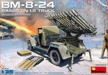 MiniArt 35259 Soviet Rocket Launcher BM-8-24 1/35
