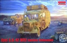 Roden 810 Opel 3.6-47 Omnibus Staffwagen 1/35