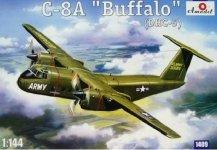 A-Model 01409 de Havilland Canada C-8A/DHC-5 Buffalo Transport Aircraft (1:144)