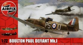 Airfix 02069 Boulton Paul Defiant Mk.1 (1:72)