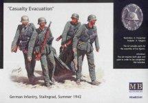 Master Box 3541 Casualty Evacuation, German Infantry Stalingrad  (1:35)
