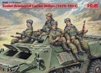 ICM 35637 Soviet Armored Carrier Riders (1979-1991) (1:35)