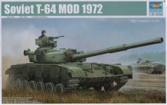 Trumpeter 01578 T-64A M1972 (1:35)