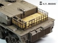 E.T. Model EA35-096 JGSDF TYPE 10 Tank Engine & Turret Rack Grills For TAMIYA 35329 1/35