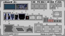 Eduard 49864 F-35A MENG 1/48