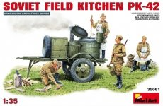 MiniArt 35061 Soviet Field Kitchen PK-42 (1:35)