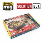 AMMO of Mig Jimenez 7703 WWII GERMAN LATE SOLUTION BOX