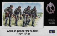 Master Box 3513 German panzergrenadiers (1939-1942) (1:35)
