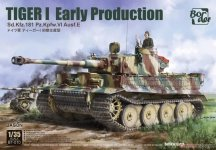 Border Model BT-010 Tiger I Early Production Sd.Kfz.181 Pz.Kpfw.VI Ausf.E 1/35